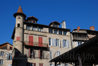 photo de la place Carnot, Figeac