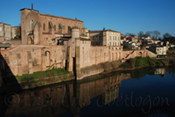 photo de l'abbaye St Michel, Gaillac