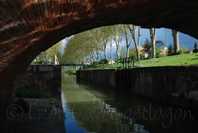photo du canal de Brienne, Toulouse